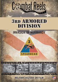 3rd US Armored Division in Normandy DVD $29.99