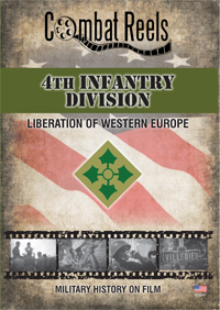 4th Infantry Division in Western Europe DVD $14.99