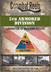 5th Armored Division in Western Europe DVD $14.99